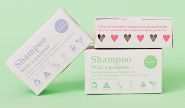 Shampoo with a Purpose - natural shampoo bar