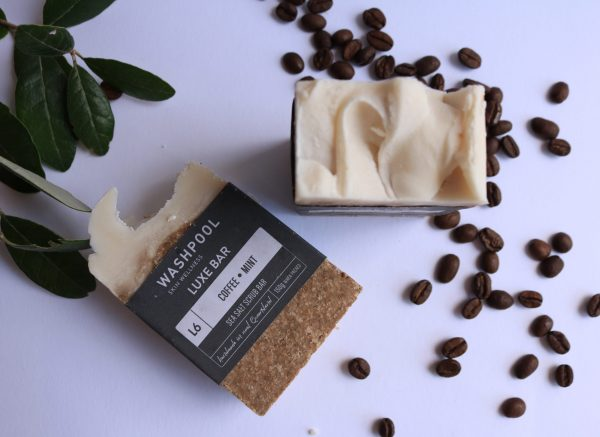Coffee and Salt natural exfoliating scrub