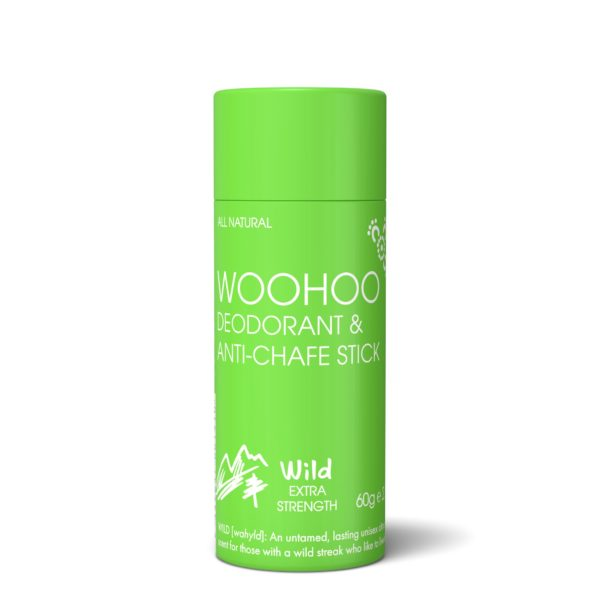 Woohoo All Natural Deodorant stick - Wild 60g