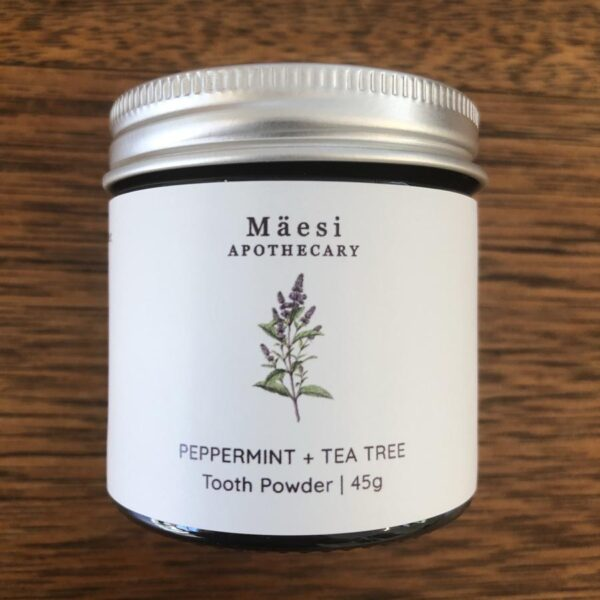 Peppermint and Tea Tree Tooth powder