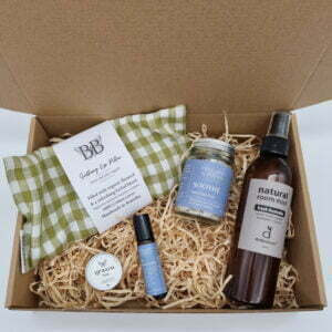 A natural gift box to help ease muscular tension and strain by Butterfly and Bloom