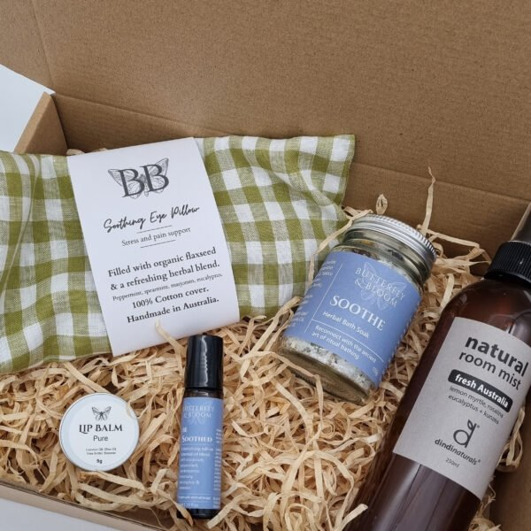 A natural gift box to help ease muscular tension and strain