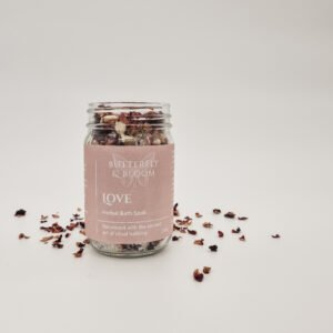 Love Herbal Bath and foot Soak by Butterfly and Bloom