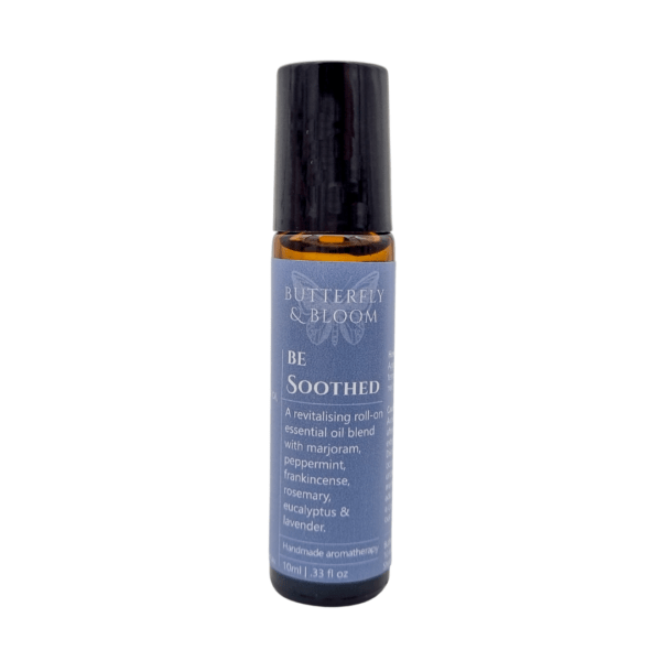 Be Soothed roller blend to help ease the discomfort associated with headaches, migraines and tension