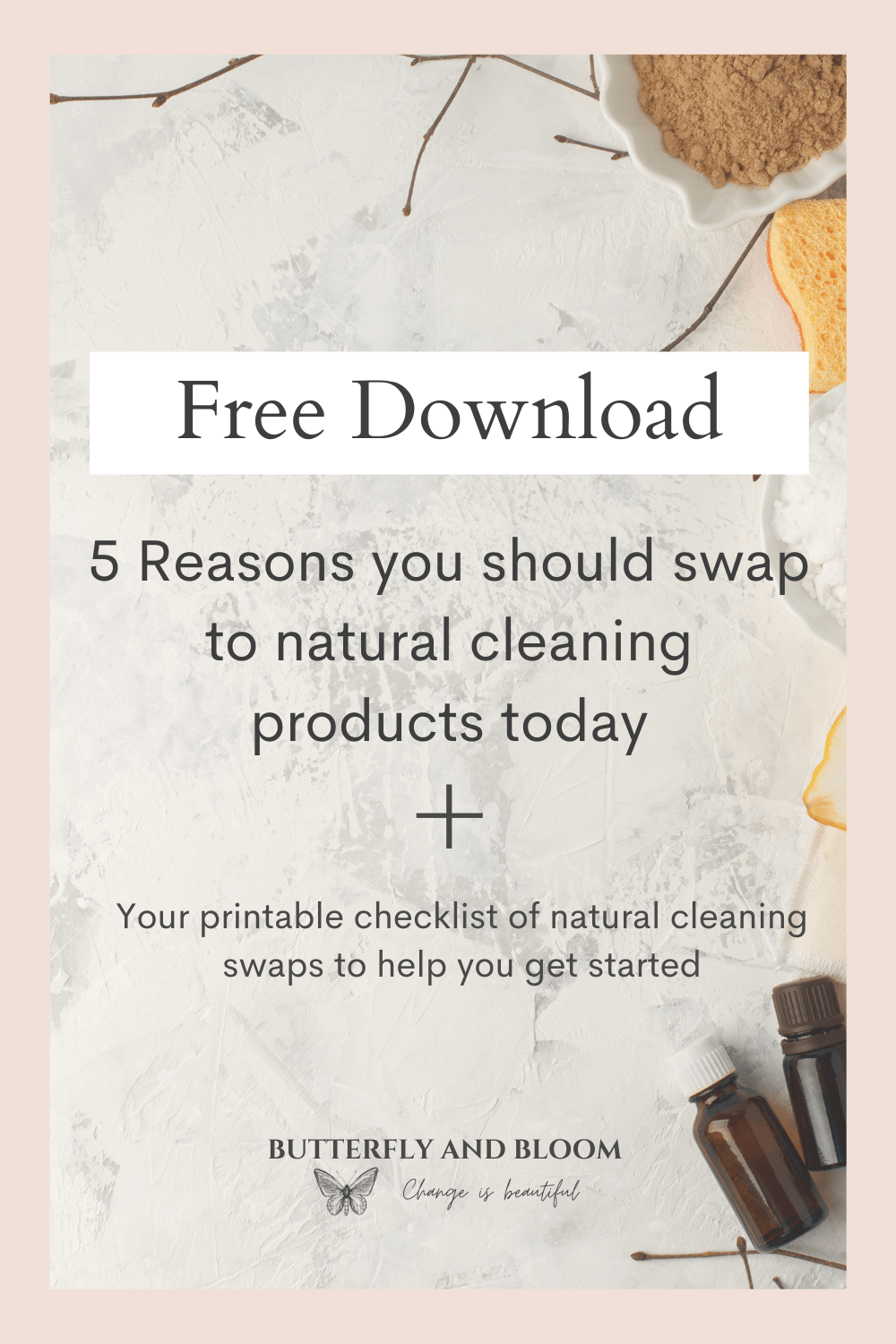 Free Digital Download on natural cleaning products