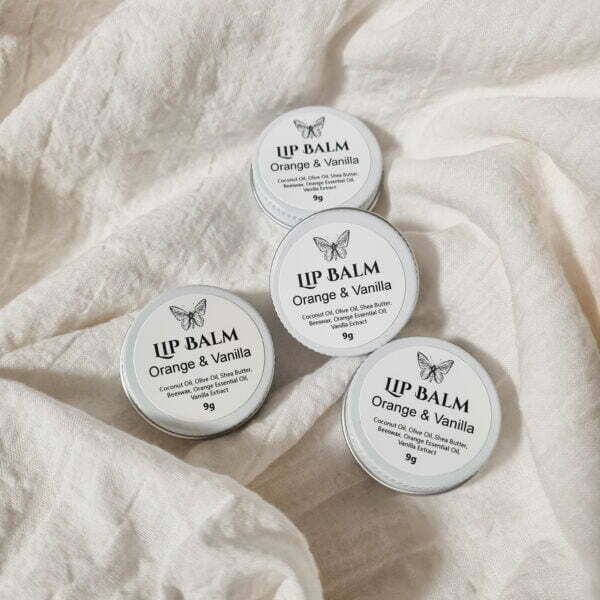 Natural lip balms by Butterfly and Bloom - Handmade in Australia