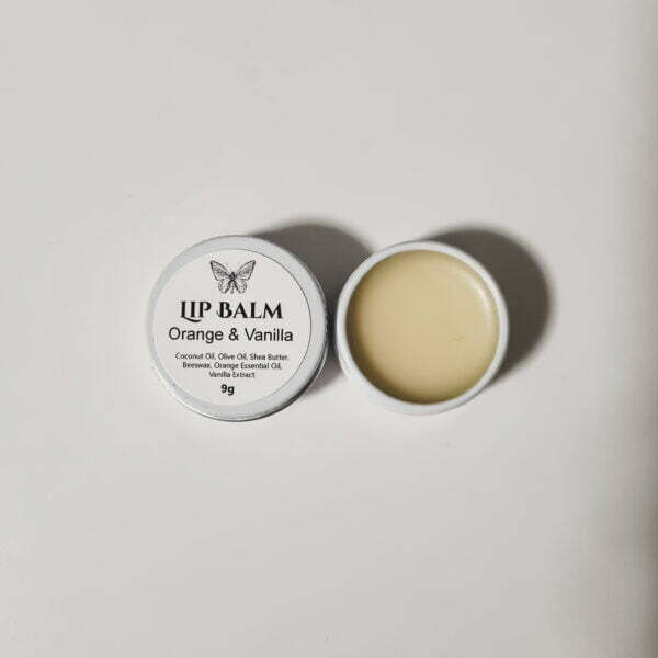 Butterfly and Bloom - Orange and Vanilla natural lip balm