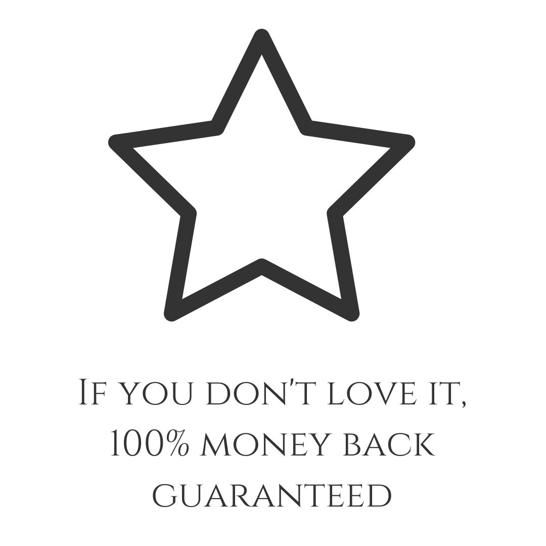 Money Back Guarantee Butterfly and Bloom
